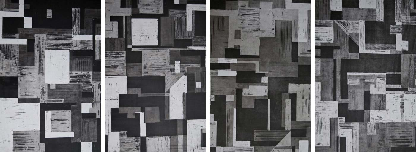 Erika Lieschen Briel - Landscape Series 1-4