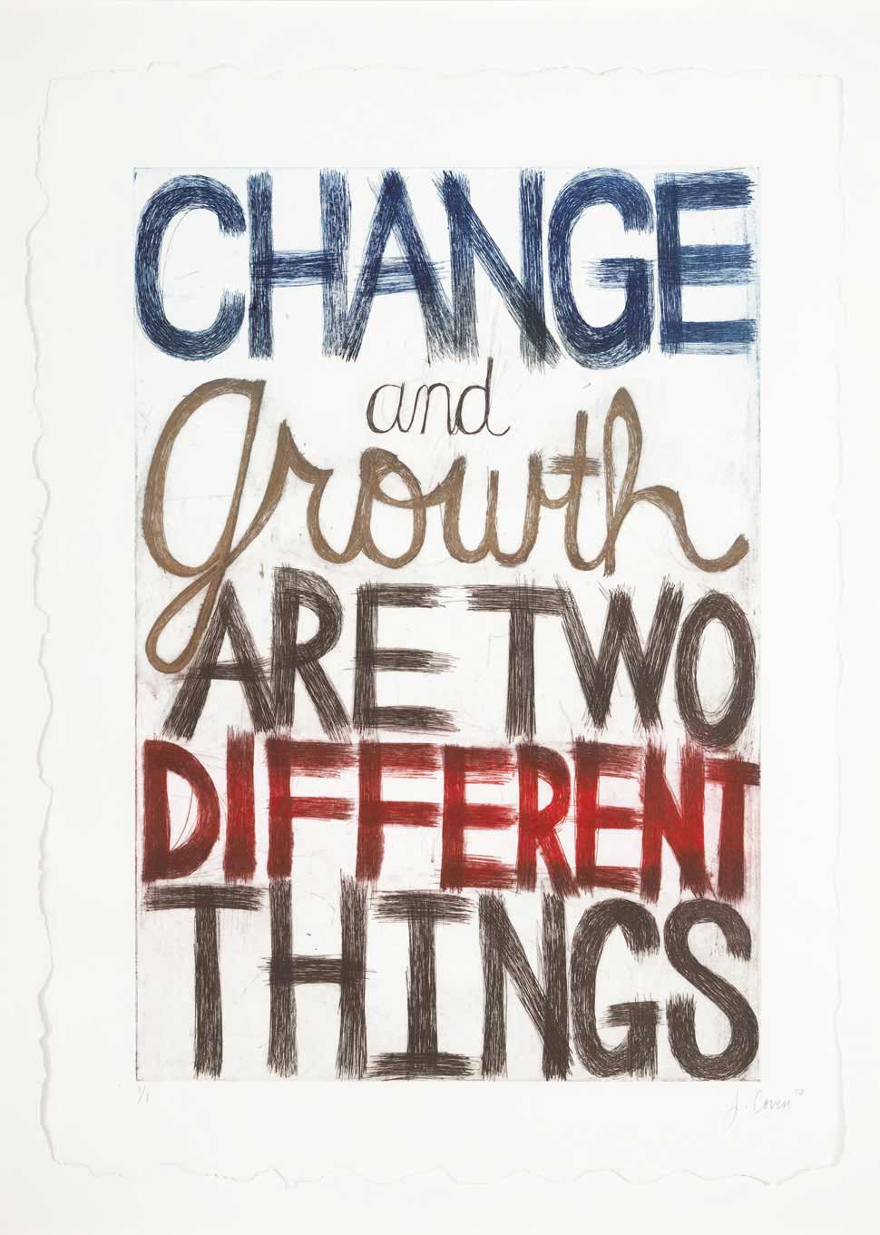 Jessica Coven  - Change and Growth