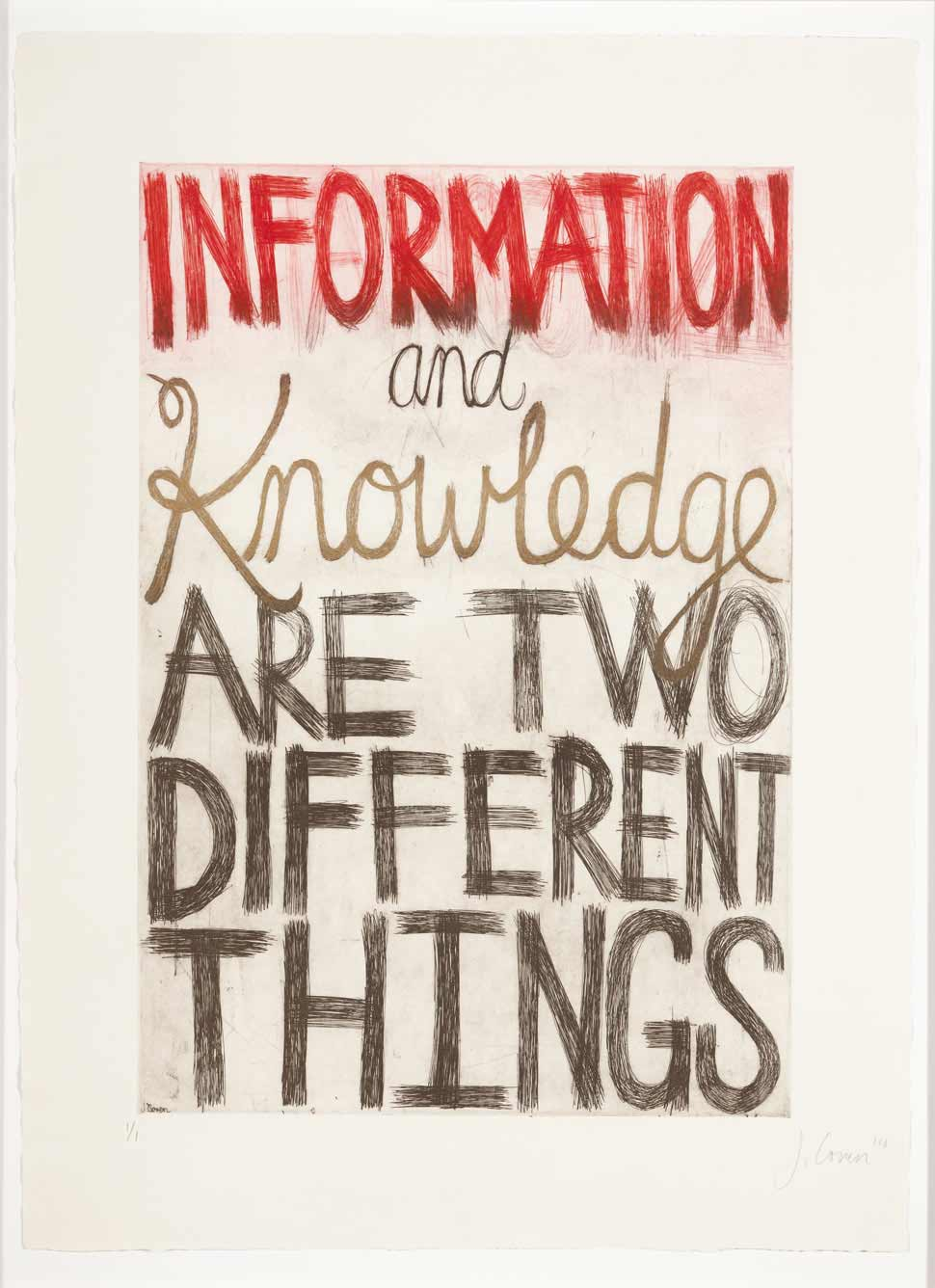 Jessica Coven - Information and Knowledge