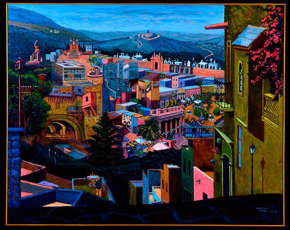 Mary Clay Hernandez - Guanajuato Series IV: Meeting Of Dreams And Memories/Encuentro De Sueños Y Memorias