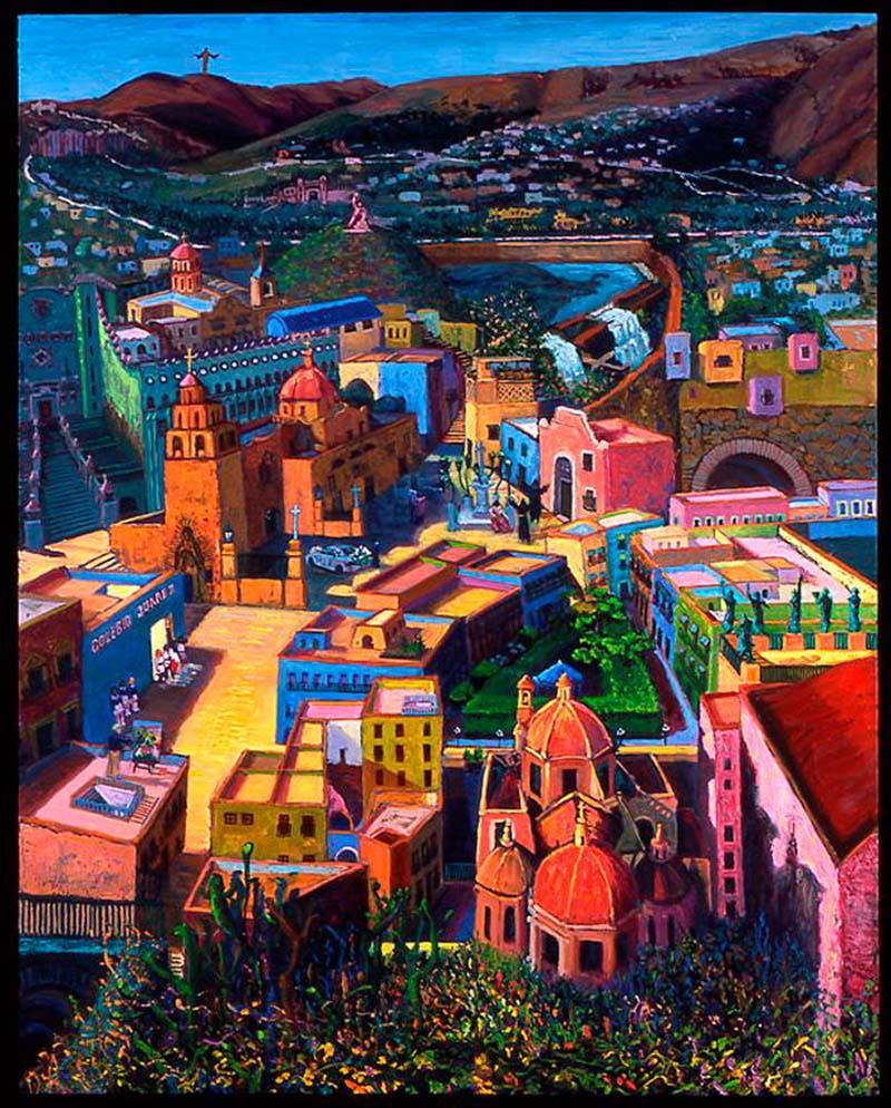 Mary Clay Hernandez - Guanajuato Series VI: Fantasy Blurs With Reality/La Fantacia Empaña La Realidad, 2006