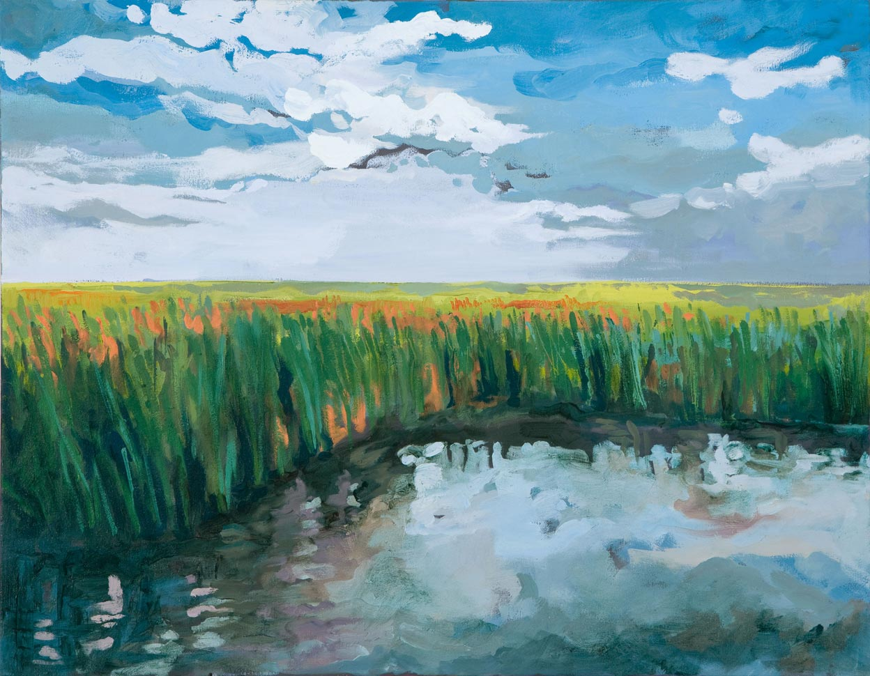 Libby Cook - Low Country Marsh Grass