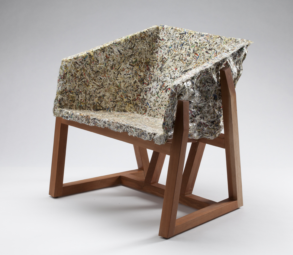 Mike Haley - Shredded Paper Chair