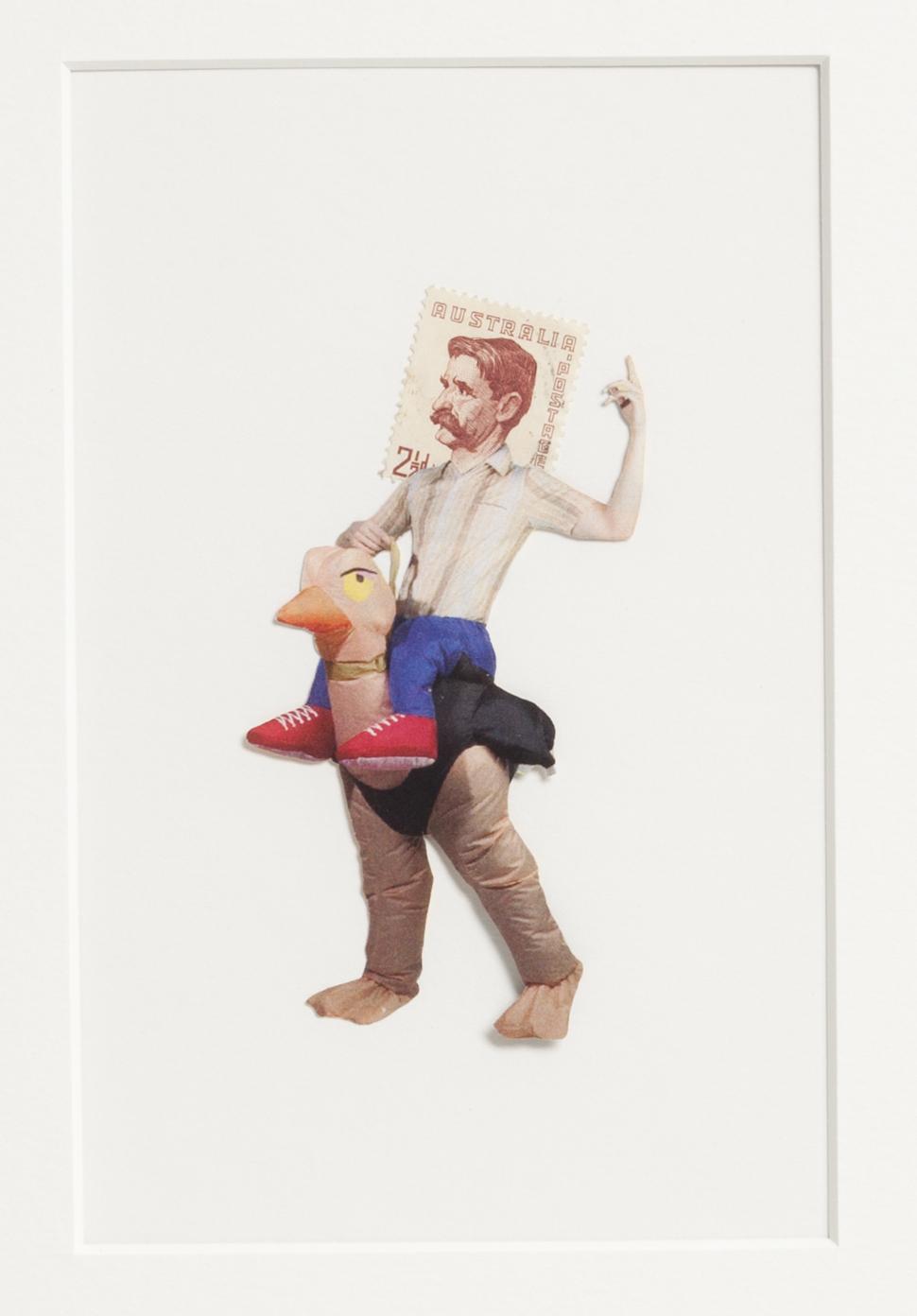 Sophia Nicolay - Postage People, Collage