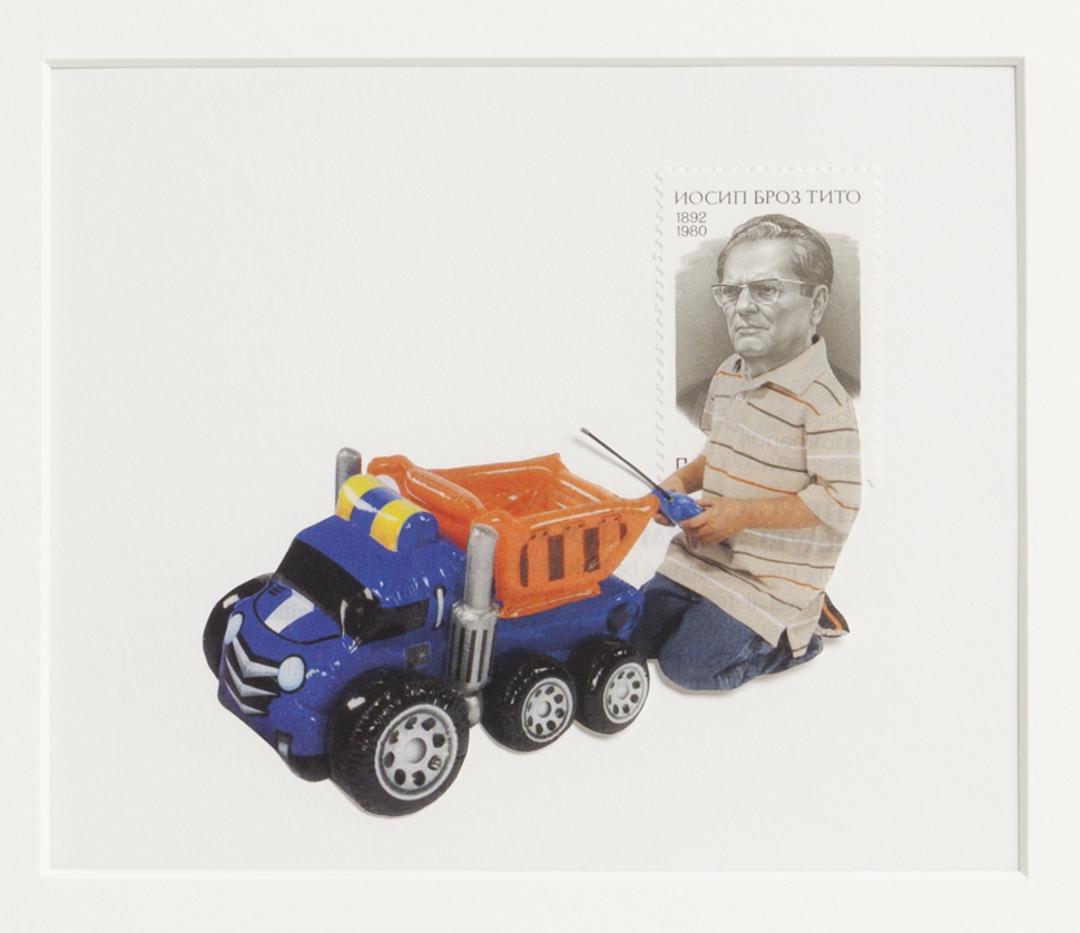 Sophia Nicolay - Postage People, Collage