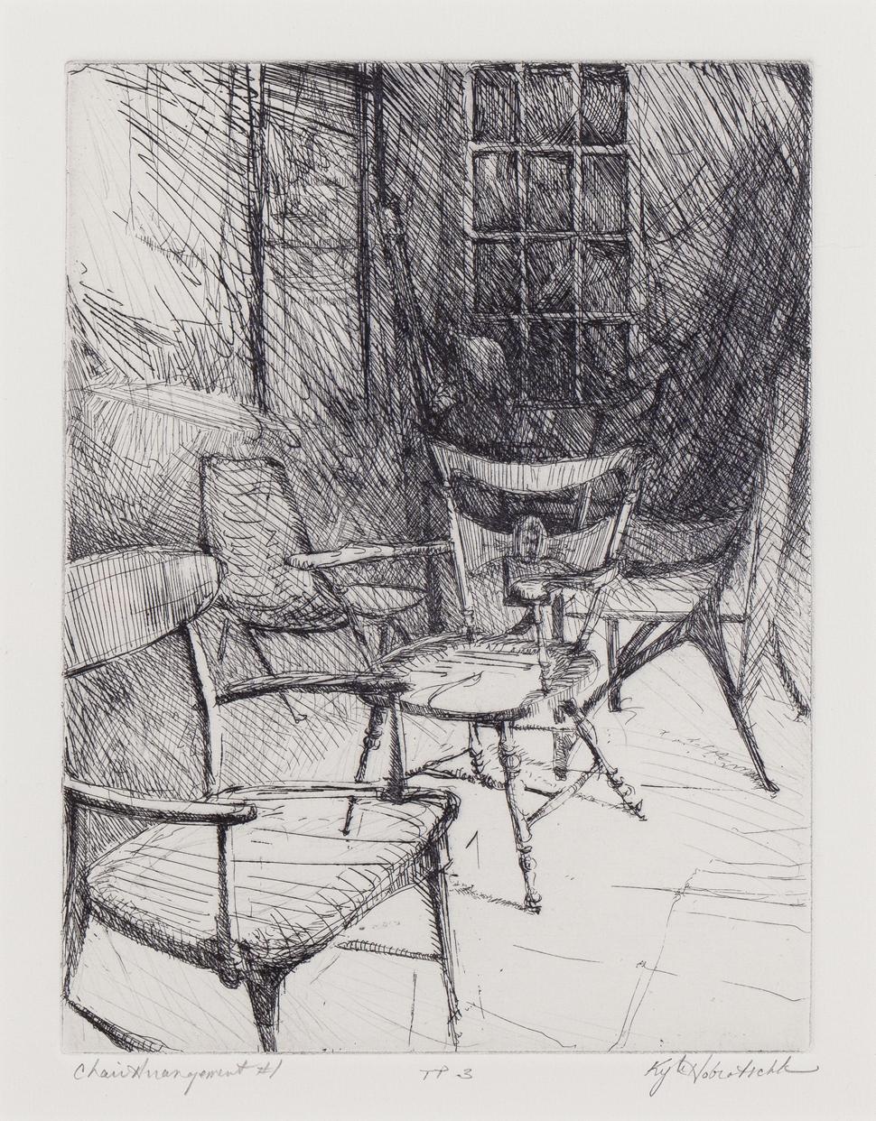 Kyle Hobratschk  - Chair Arrangement I