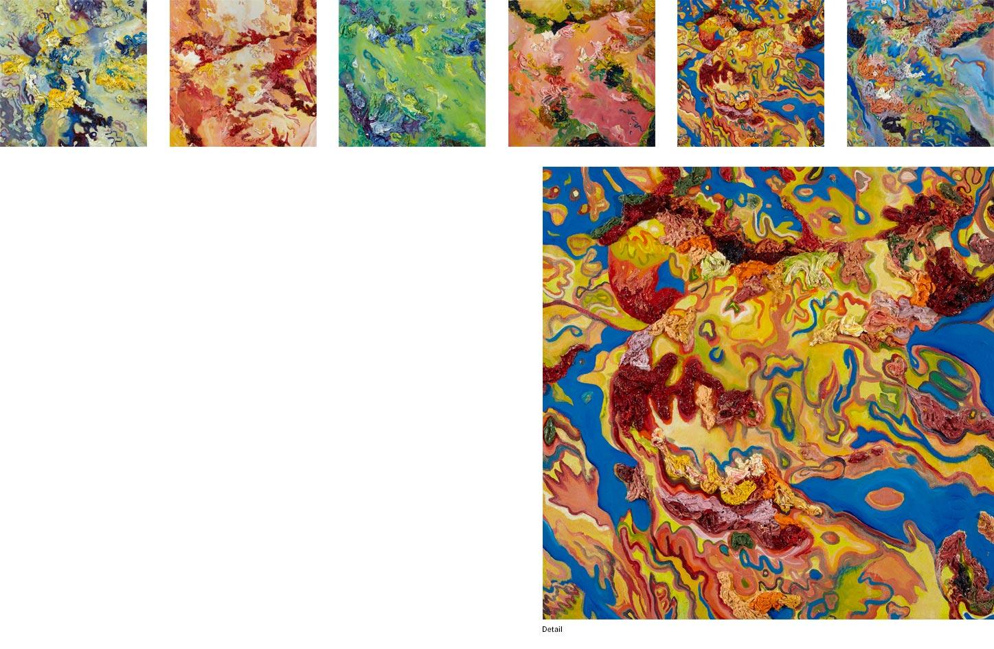 Christel Scott - Facedown Landscape Series
