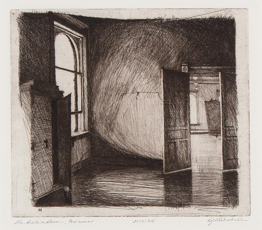Kyle Hobratschk - The Archive Room, Corsicana