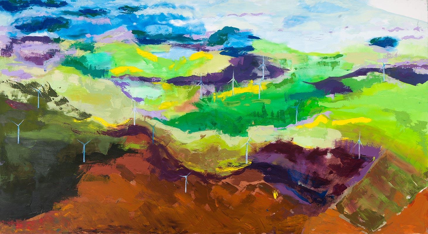 Abigail Philp - Aerial Landscape #2