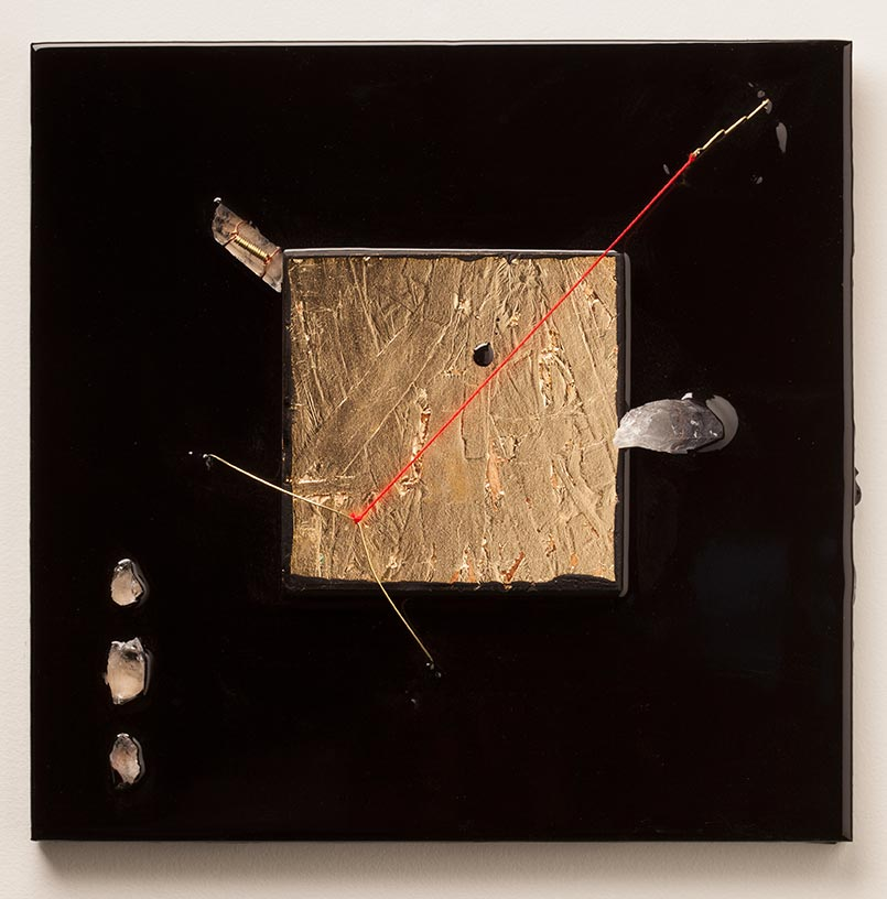 Andrew Schmidt - Untitiled (Gold Square)