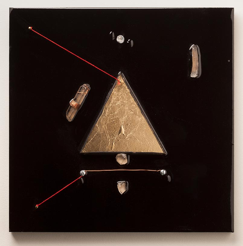 Andrew Schmidt - Untitiled (Gold Triangle)