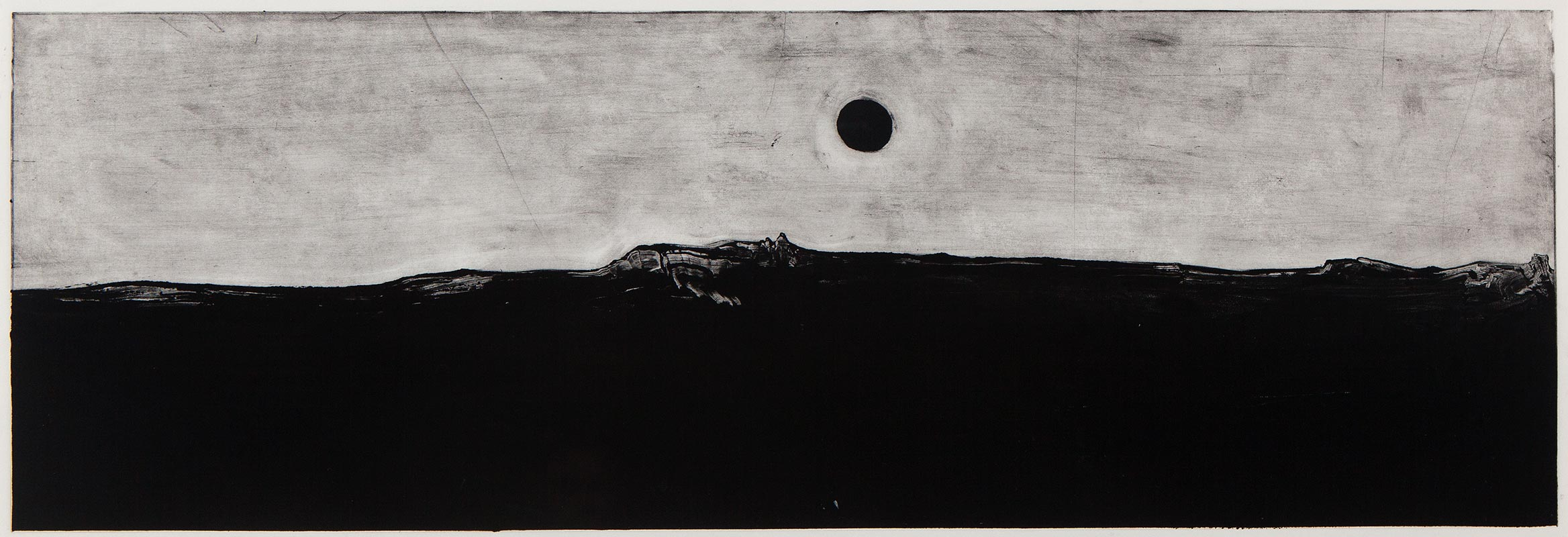 Andrew Tyler - Untitled (Black Sun)