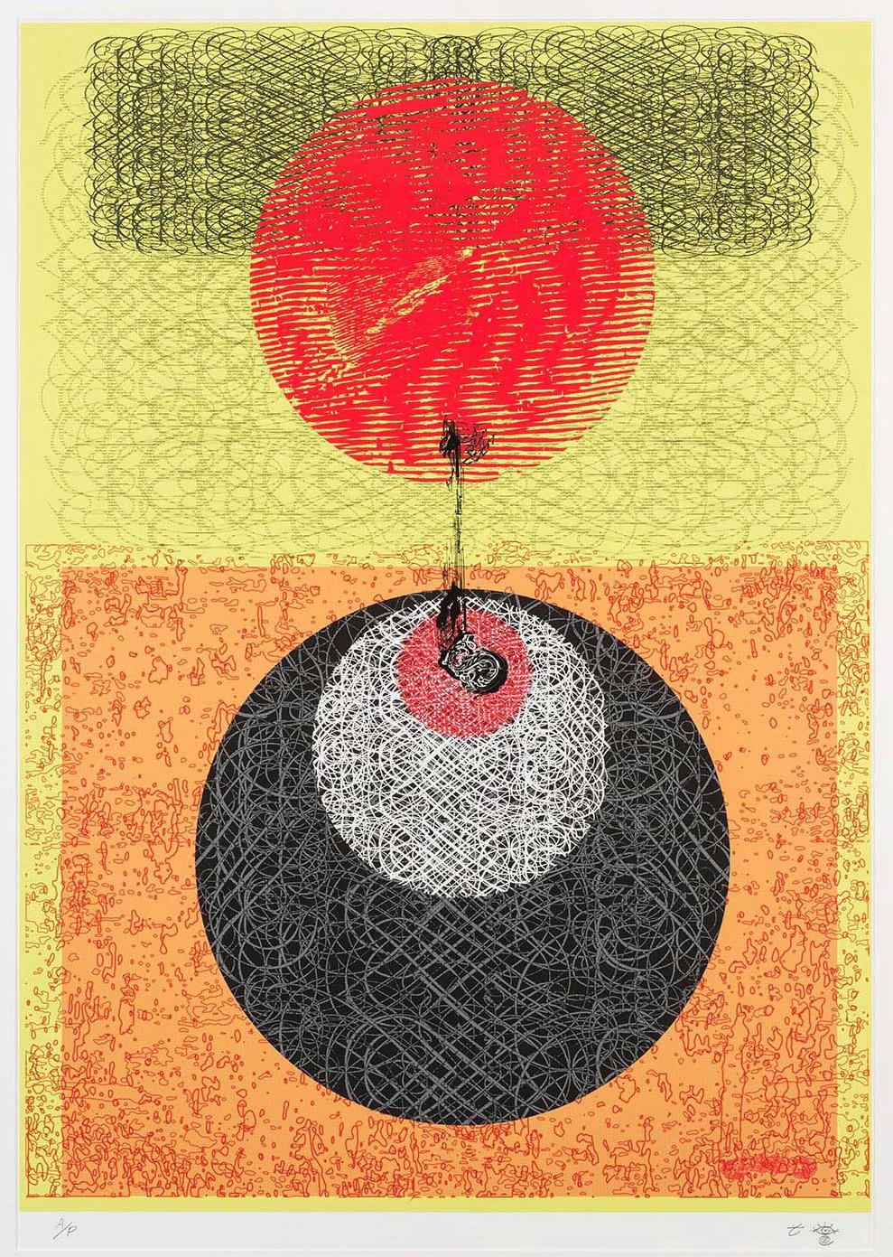 Theresa Choe-Herrington - Study for Mandala Embroidery