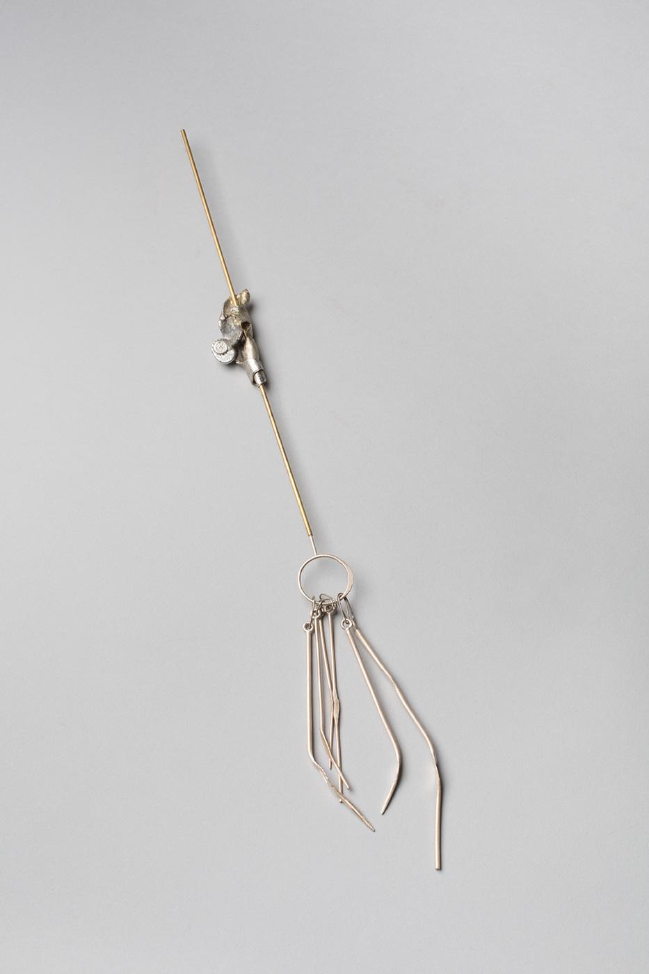 Amina Rizwan - Warp Stick and Objects (Unembroidered series)