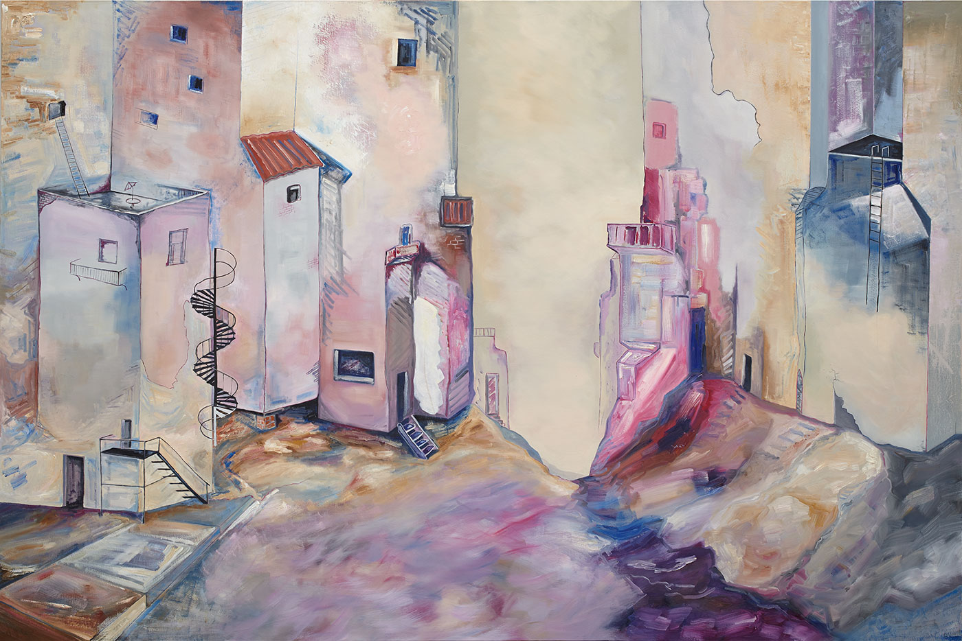 George Gonashvili - Negative Spaces of Once-existed Architecture