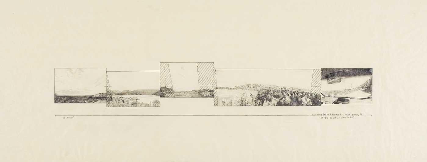 Nicole E. Malbeuf - Extended Memory No.1: View along Dalsland Highway E18