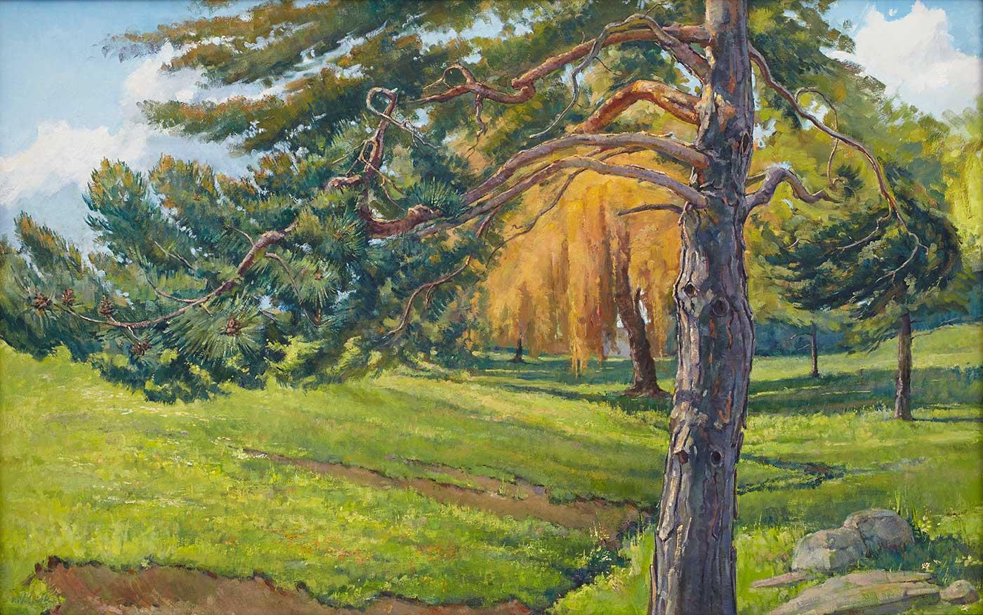 Kyryl Volovik - Moving Pine Tree