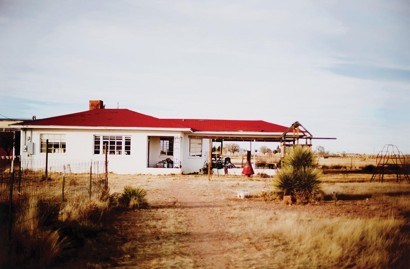 Susan Simmons - Don and Val's, Marfa, Texas