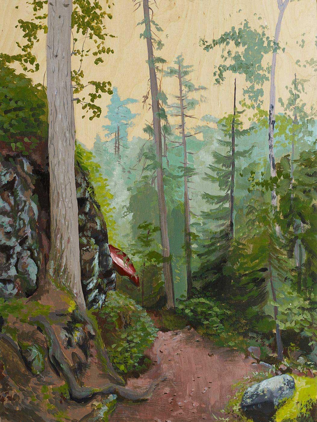 Kalynn C. Sinnamon (née Le Blanc)  - Wooden Portage