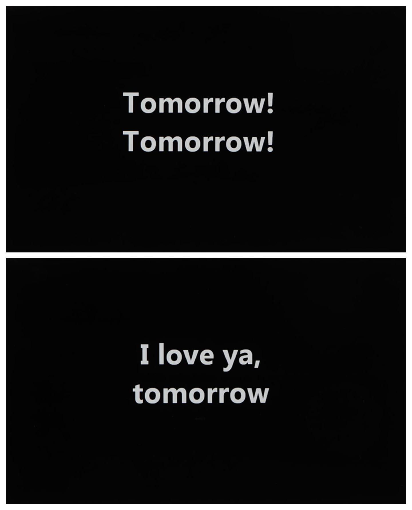 Kate Jarboe  - Tomorrow! Tomorrow! and I Love Ya, Tomorrow!