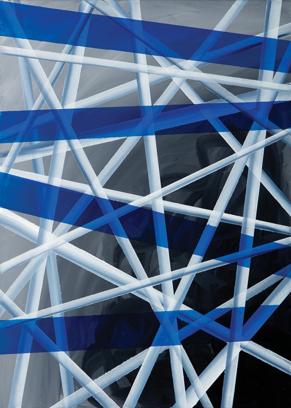 Lisa A. Rocha  - Untitled (Blue Transparent)