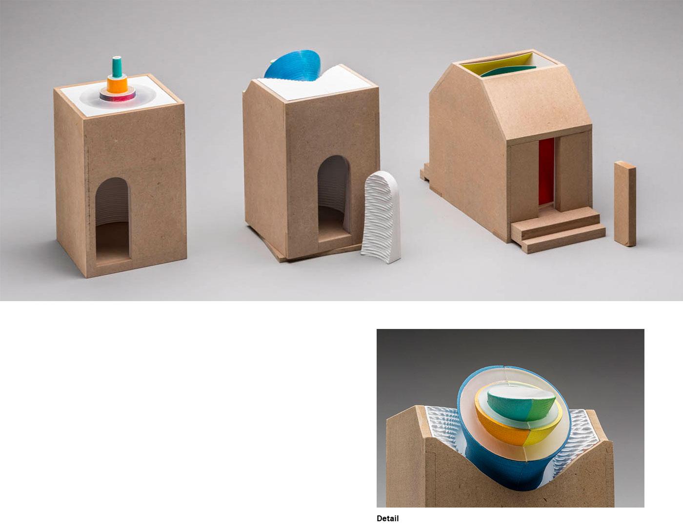 Benas Burdulis - Three Scale Models for Daylight Study