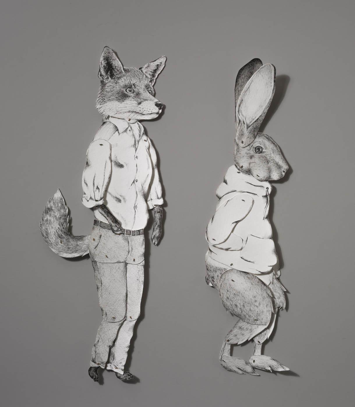 Ivy S. Johnson - Bro. Fox and Bro. Rabbit