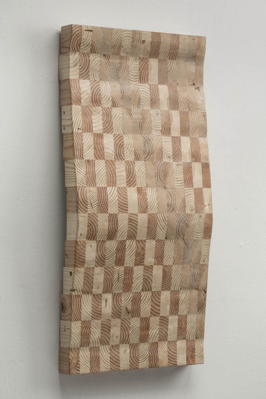 Ato K. Ribeiro  - Untitled (Wooden Kente 3)