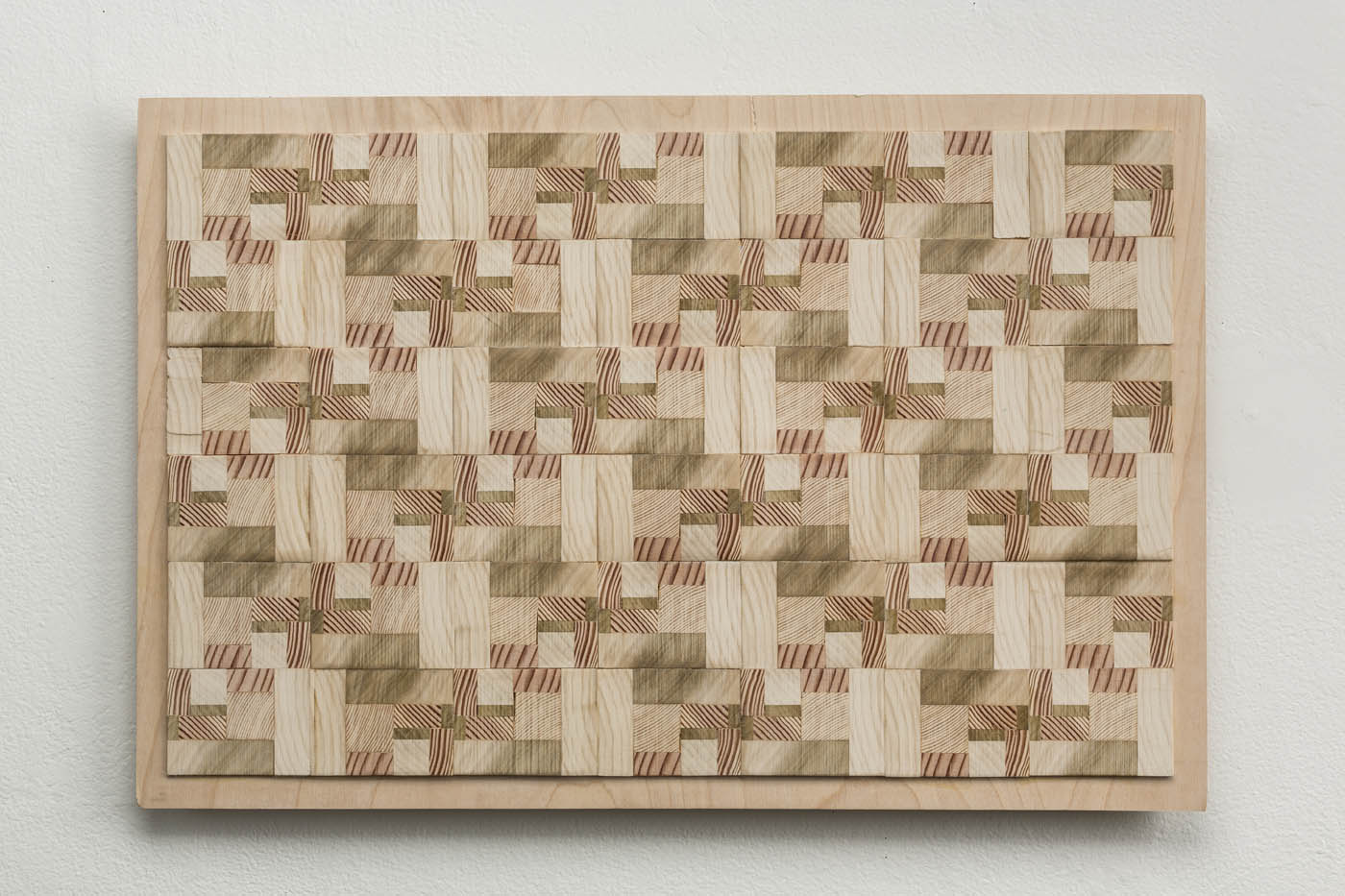 Ato K. Ribeiro  - Untitled (Wooden Quilt 1)