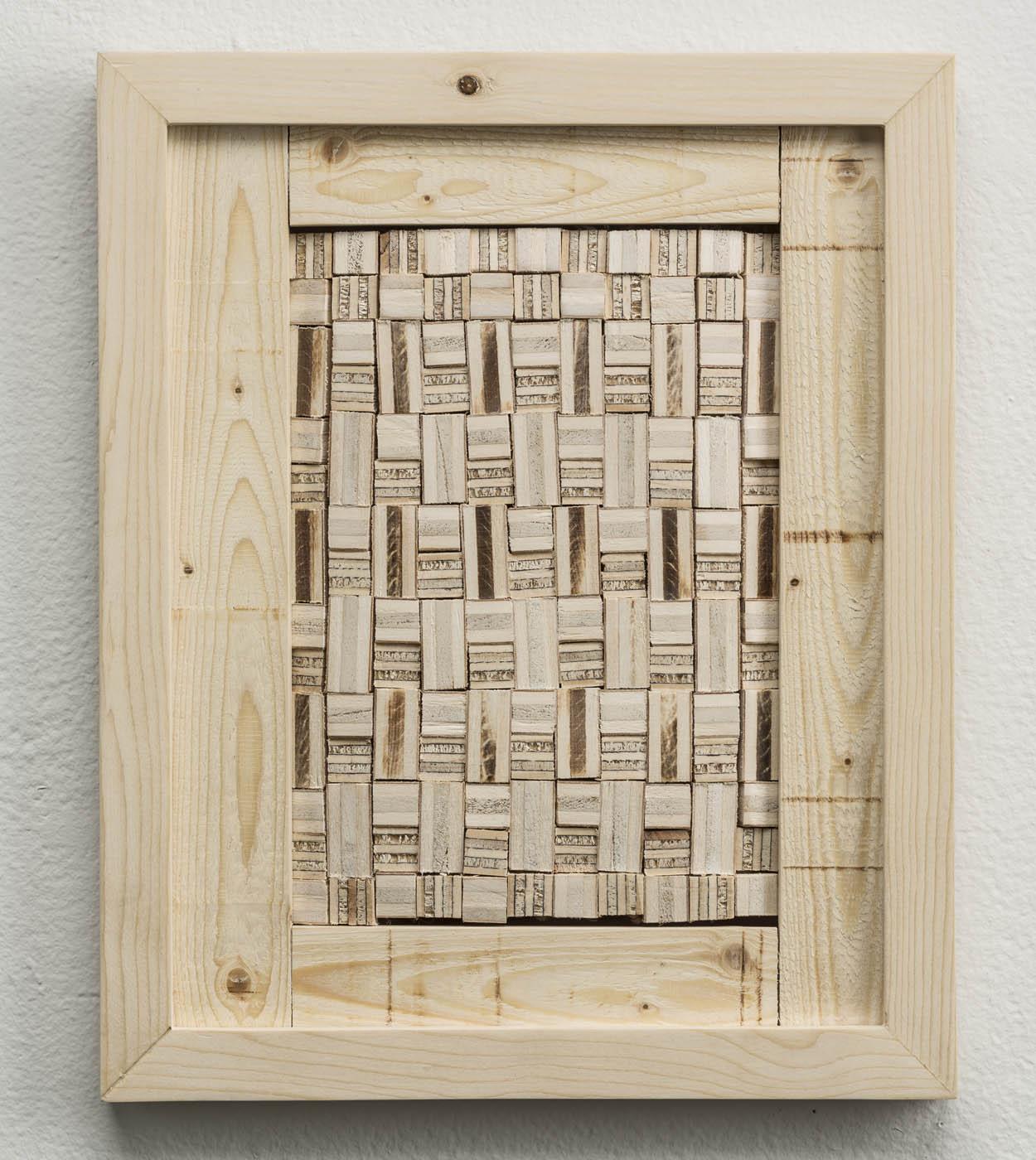 Ato K. Ribeiro  - Untitled (Wooden Kente)