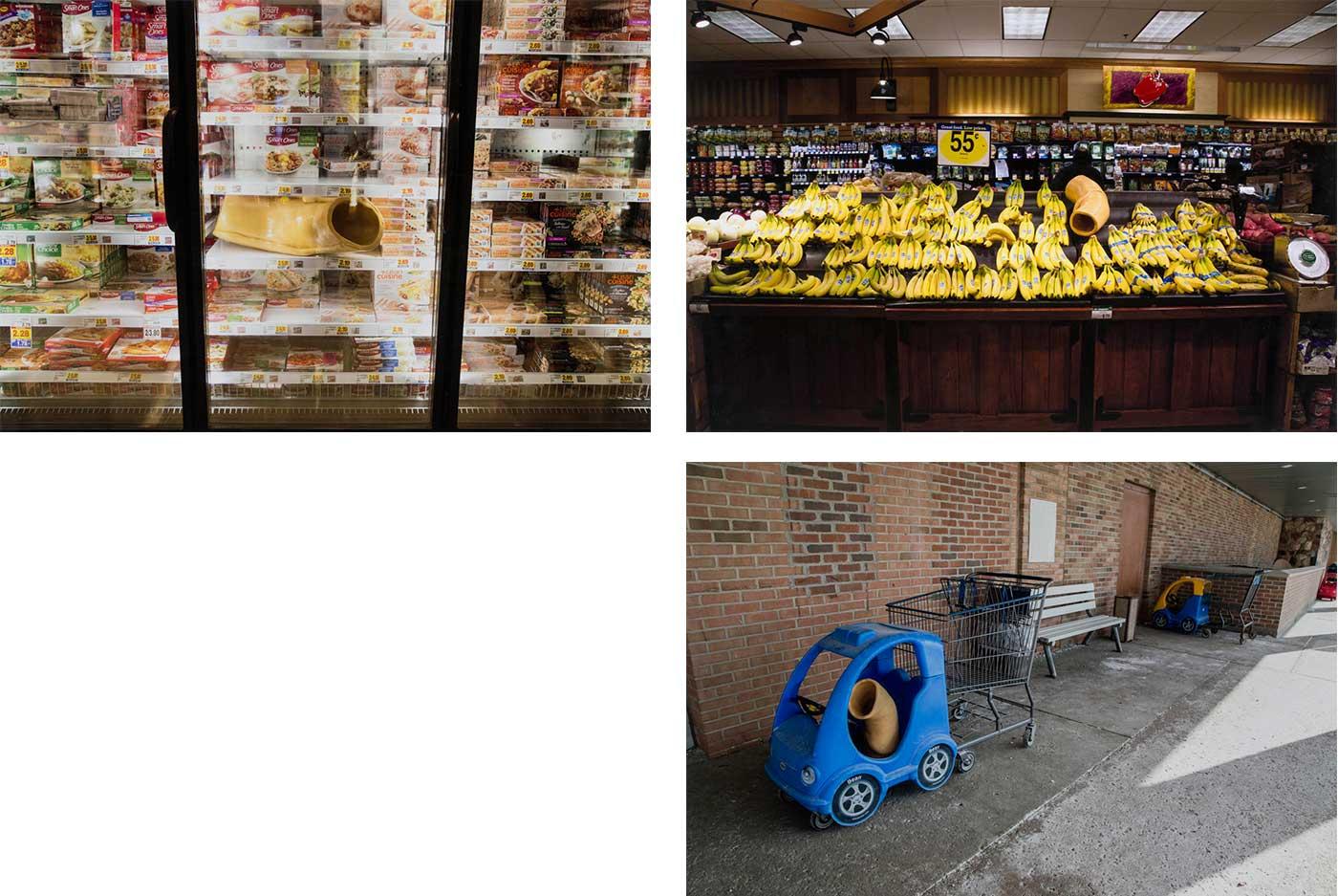 Sara Nishikawa - Groceries at Kroger (trying to blend in)