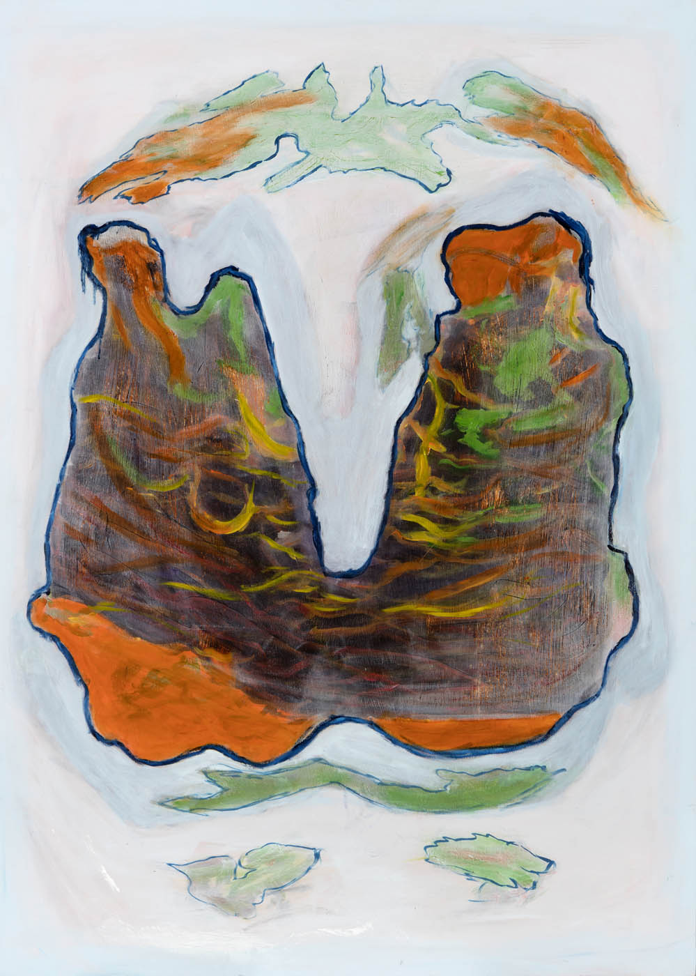 William C. Jenkins - Paint Blot #2