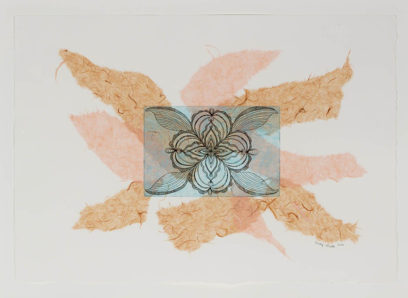 Candy R. Warth - Frayed Mandala