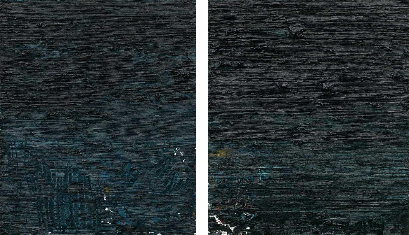 Hyein Jung - Untitled Diptych
