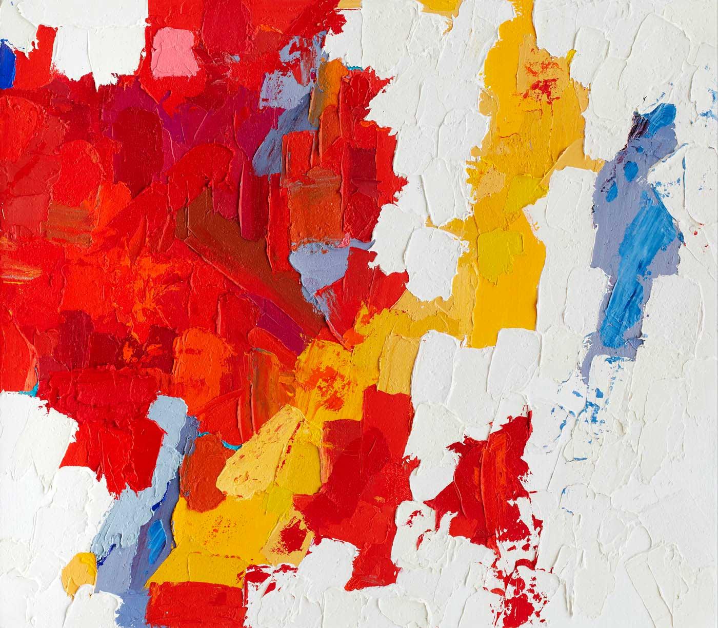 Jessamyn Kahn - Experiment in Thick Paint 2