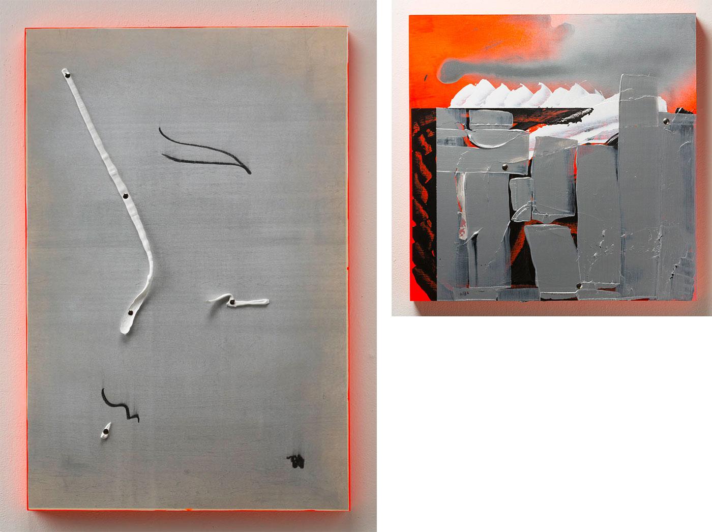 Christian J. Morin - Still Life and Landscape (Diptych)