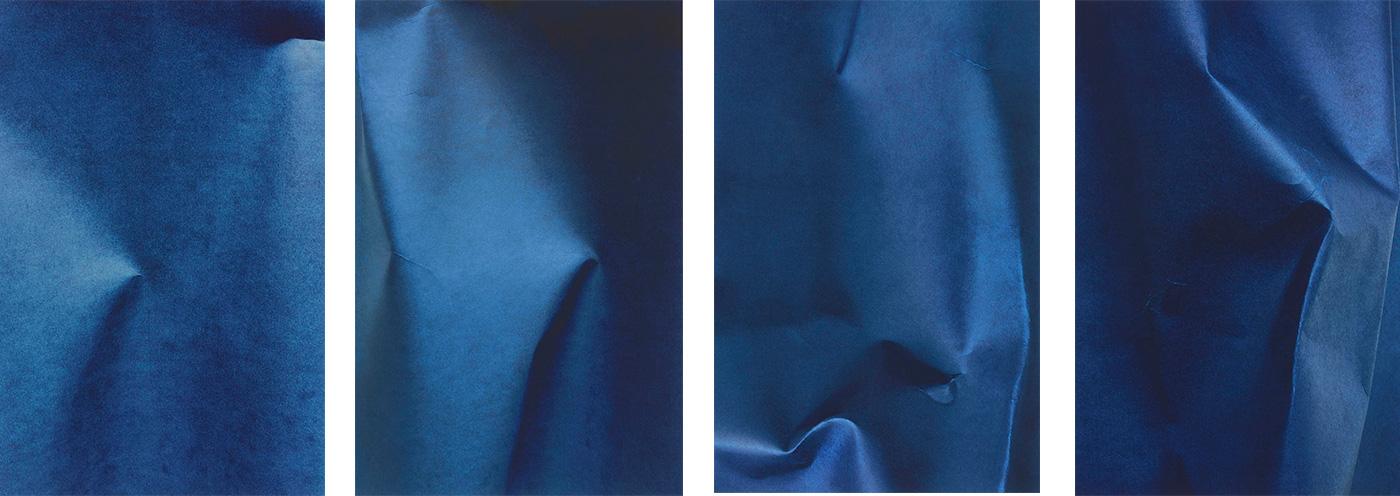 Kottie Gaydos - Unfixed, Fold No. 2; Unfixed, Fold No. 3; Unfixed, Fold No. 4; Unfixed, Fold No. 6