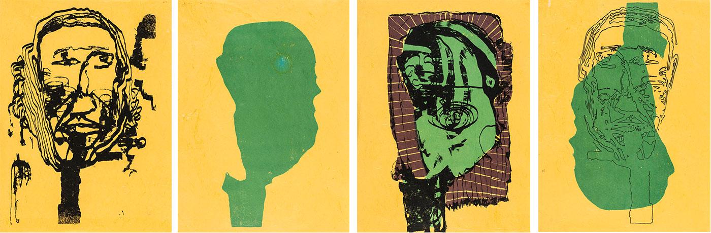 Max S. Plona - Face 1; Face 2; Face 3; Face 4