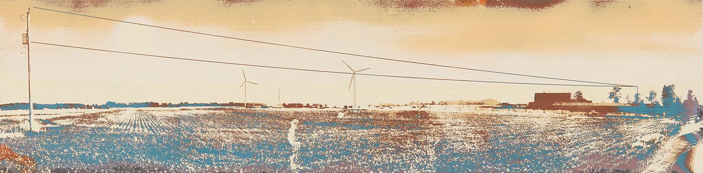 John Deal  - Niagara Landscape—Windmill and Field