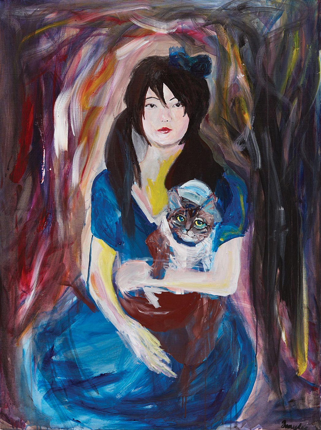Amy Lee - The Girl and the Cat