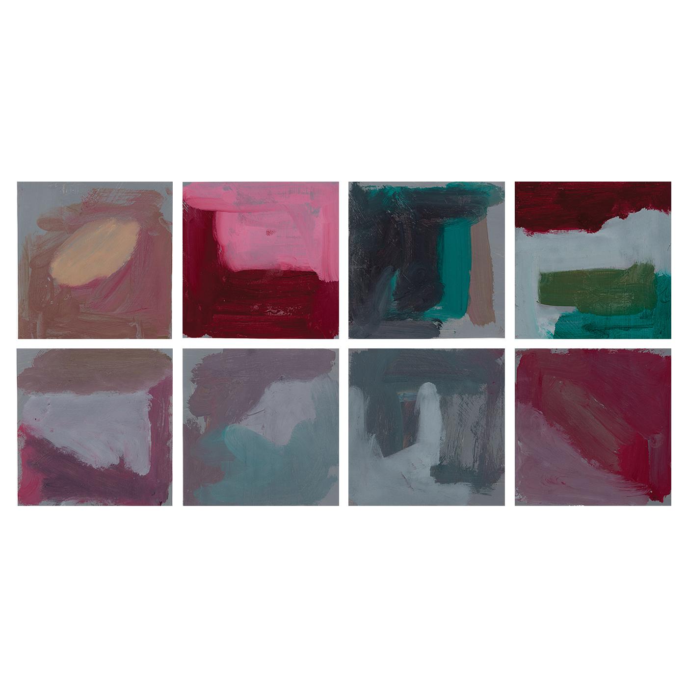 Angie Reisch - Color Studies I-VIII