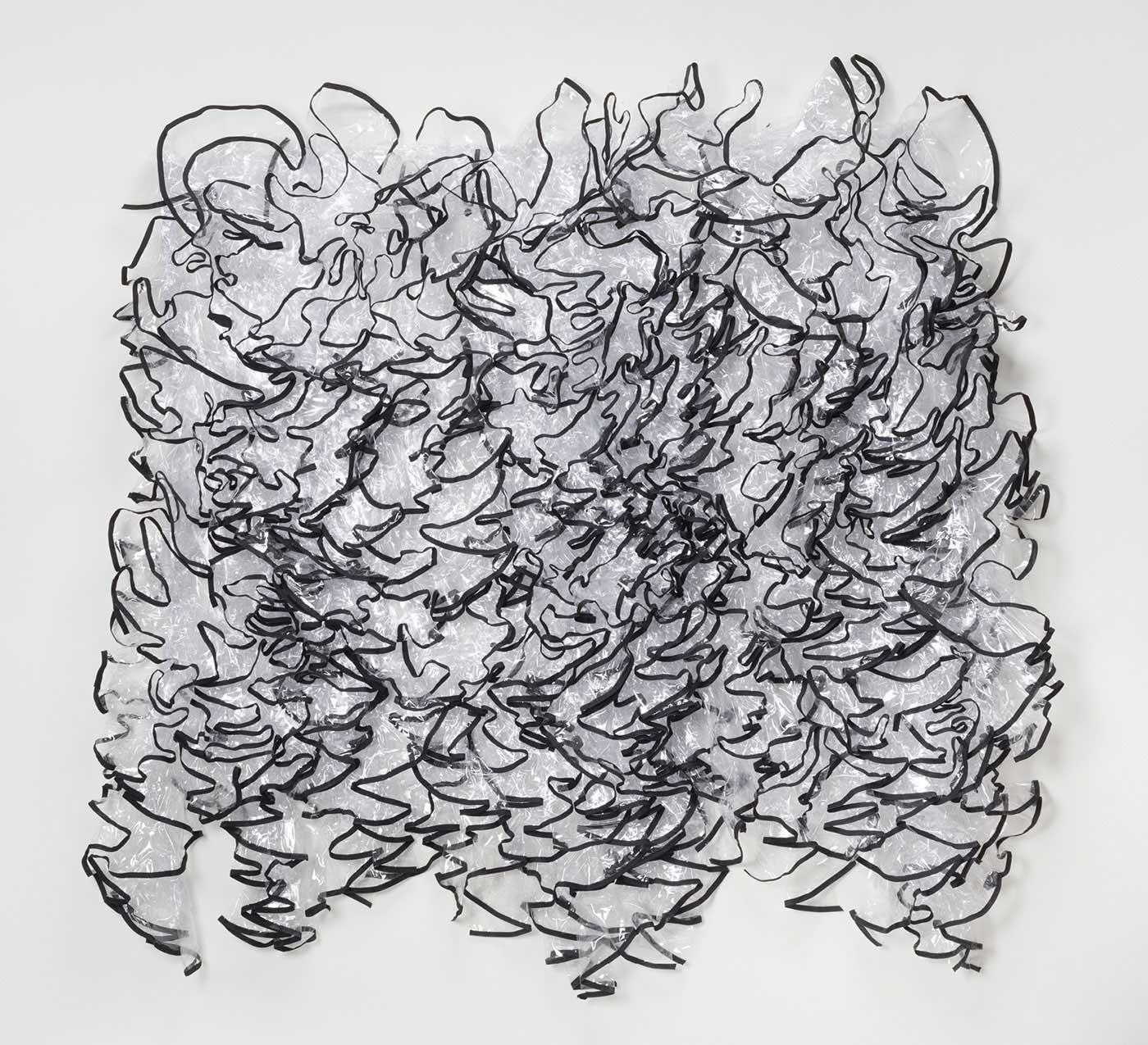 Vanessa Viruet - Edges/Black Line Study