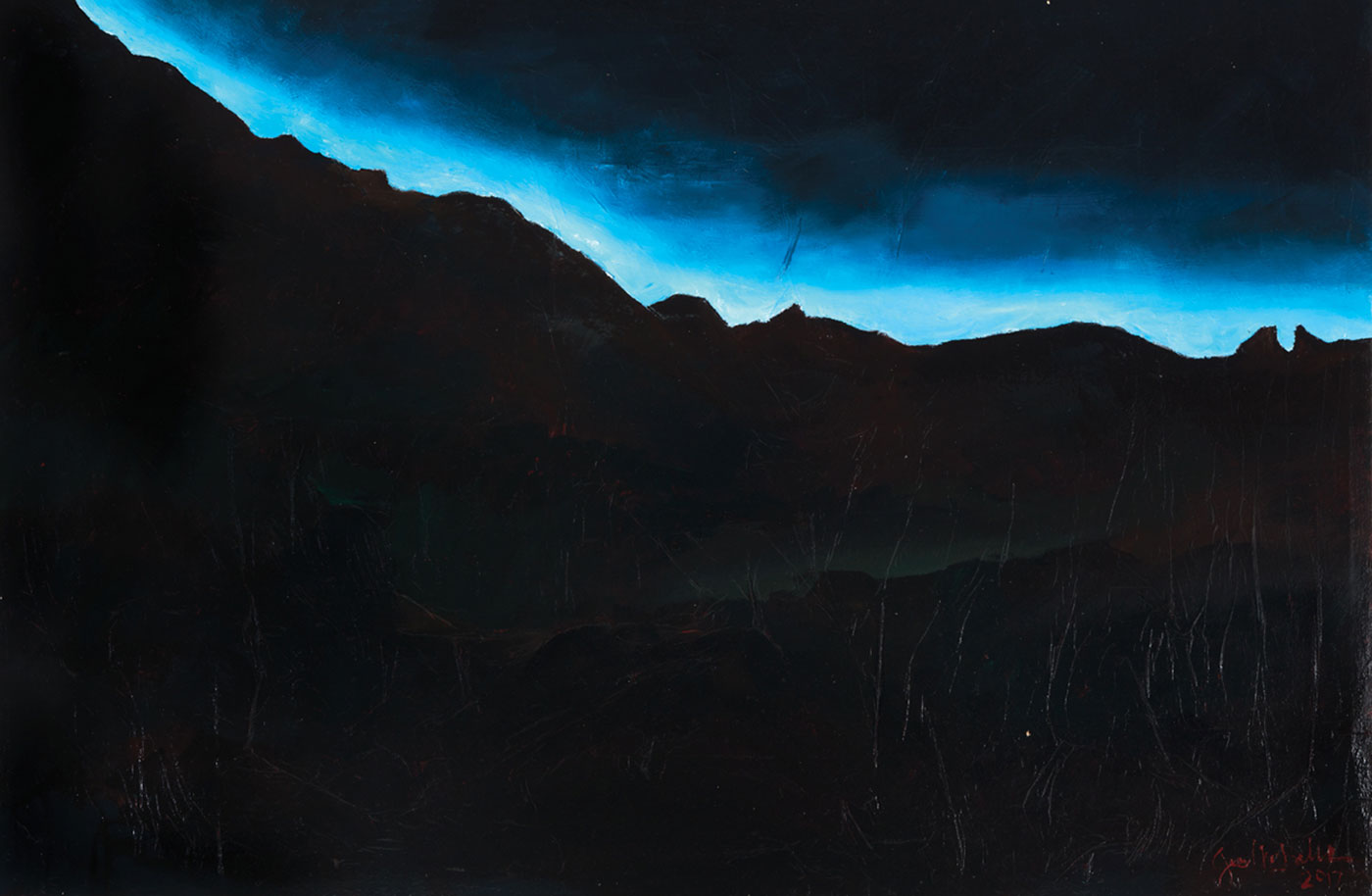 Jessica M. Balli - Taos Twilight I