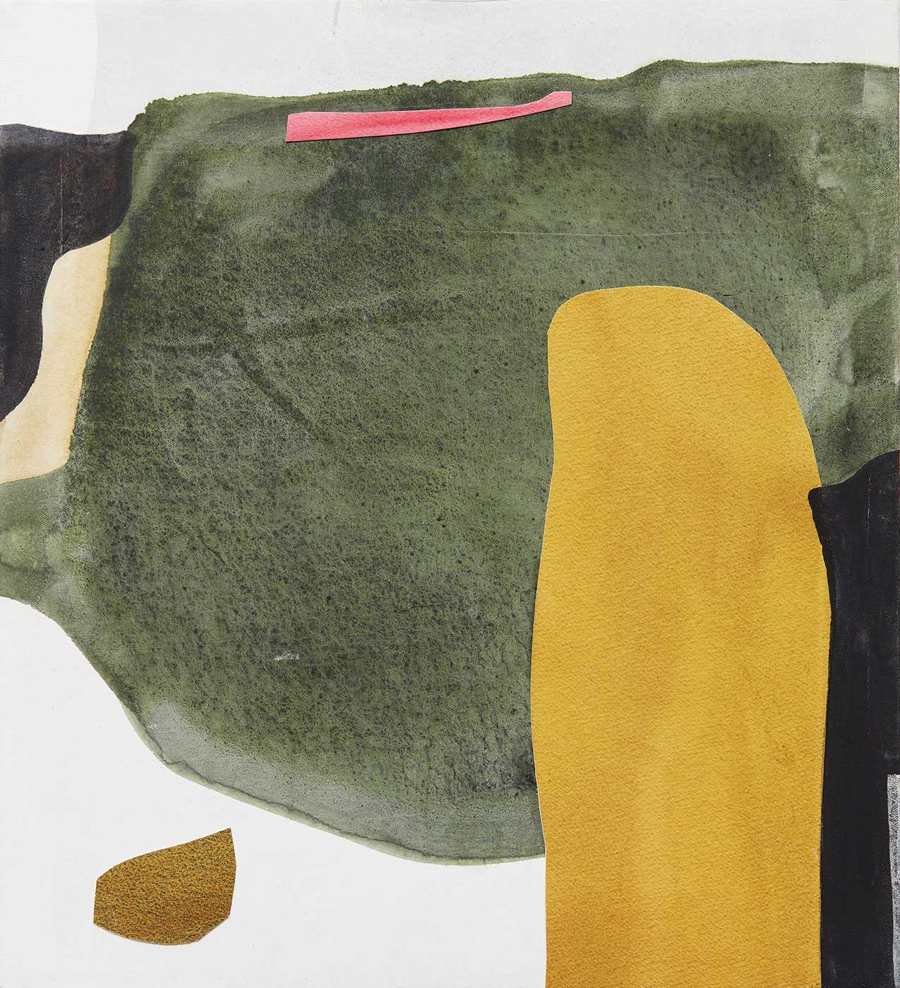 Julia Balfour   - Fuschia in a Sea of Green
