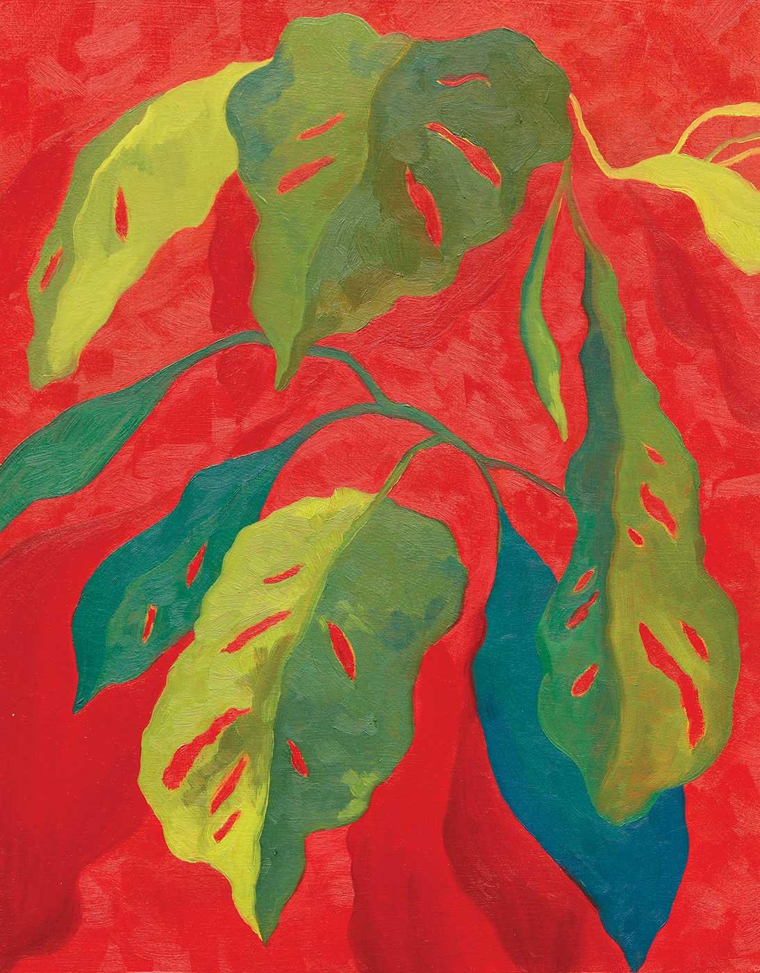 Claire E. Browne   - Crimson Plant Study