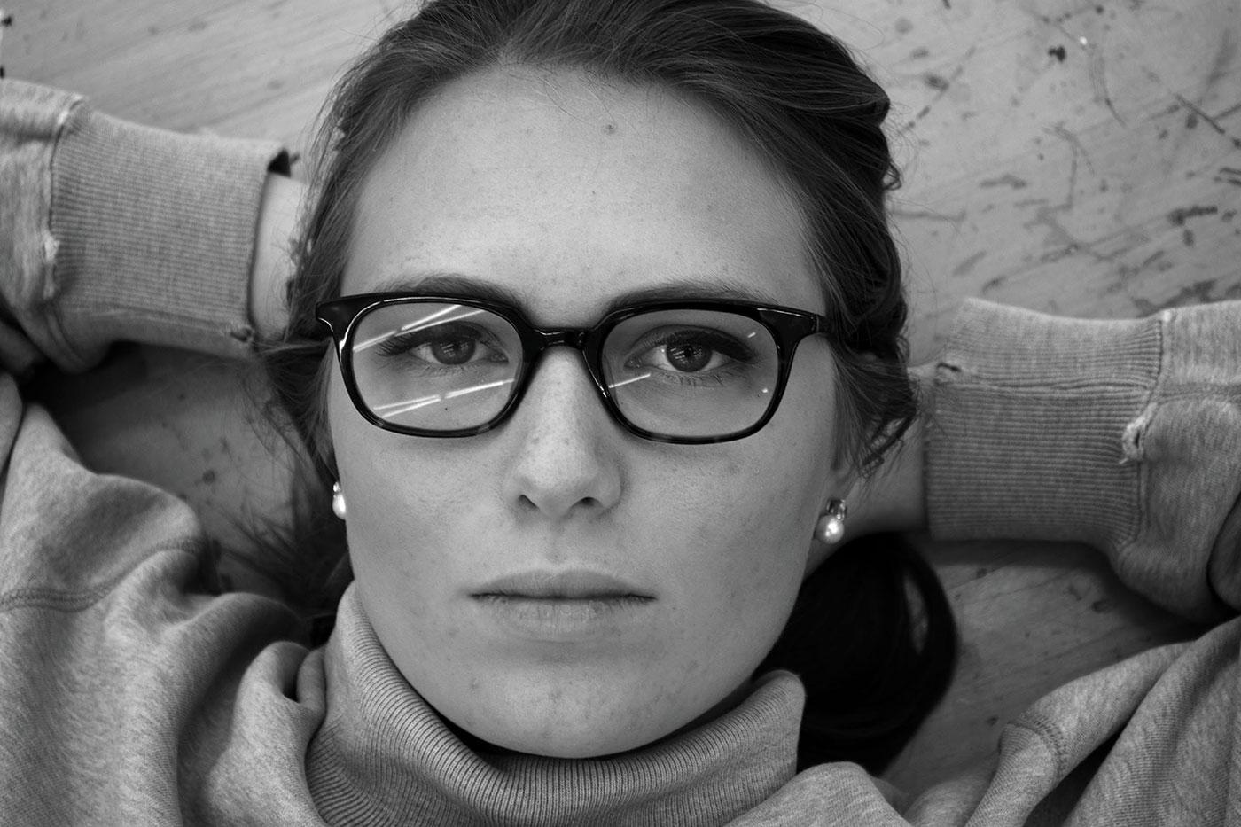 Hannah M. Ricks - Portrait of E