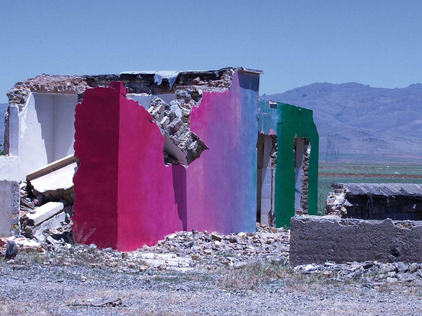 Arshia Salesi   - Broken Walls