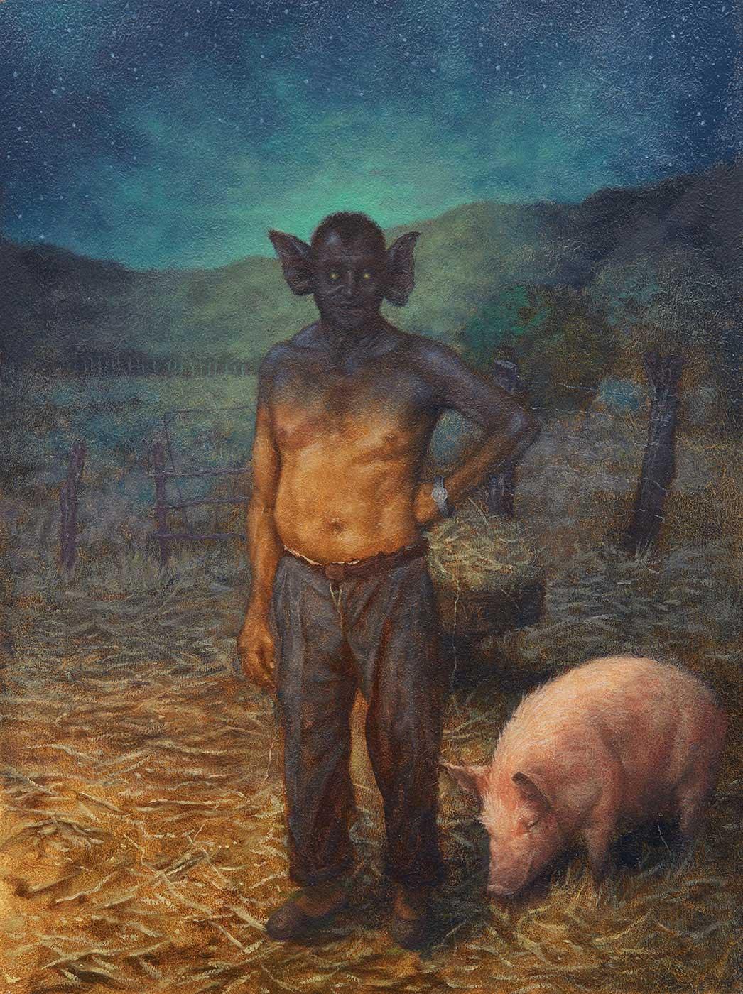 Diego de la Rosa - At the Farm