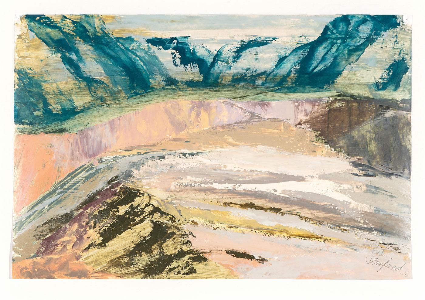 Julie S. England - Rio Grande Near Taos
