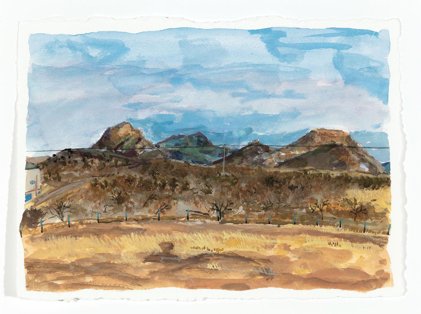 Nicolás González - El Campo, los Cerros y la Corona (The Field, the Mountains and the Corona)